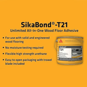 Sikabond T21 a new all in one adhesive 2